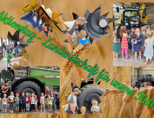 Mit Kuh, Kind und Kegel…unser Aktionstag für die Kids